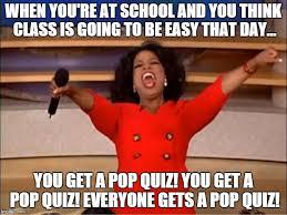 Quiz Meme - oprah you get a meme imgflip