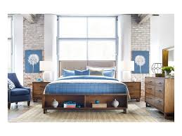 Kincaid Bedroom Furniture by Kincaid Furniture Traverse Cooper Modern Craftsman Nightstand With