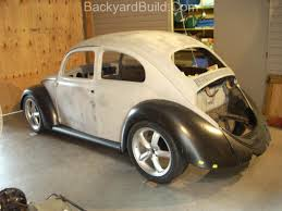 volkswagen beetle modified black vwvortex com best of both worlds classic fiberglass beetle body