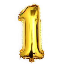 balloon decorations mylar number letter gold 40 1 one mylar number letter balloons birthday big