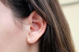 conch piercing cuff conch piercing no piercing needed clip on ear cuff conch