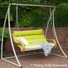 luxury outdoor swing chair with stand in furniture chairs with