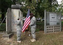 Army Uniform Flag Patch Stuttgart Bw U2013 Kelley Barracks The Wall Net