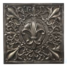 Inexpensive Wall Art by Amazing Fleur De Lis Metal Wall Art 15 For Mr And Mrs Wall Art