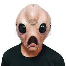 halloween prosthetic mask online get cheap alien mask costume aliexpress com alibaba group