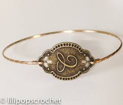 Monogram Bangle Bracelet 77 Best Weddings Personalized Bracelets Initial Monogram Bangle
