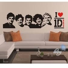 popular decoration for teen room buy cheap band portrait wall stick decal room sticker decor vinyl art large kids teens idolater