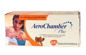 chambre inhalation b aerochamber plus chambre inhalation pédiatrique gsk pharmacie
