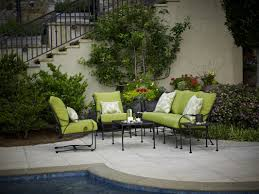 meadowcraft monticello 5 piece deep seating group with cushions