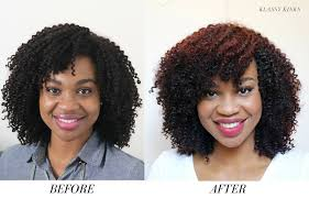 curly hair extensions before and after how to custom color curly hair extensions klassy kinks