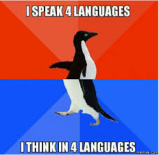 Language Meme - mother language meme challenge using social media to promote and