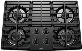 Sealed Burner Gas Cooktop Kitchen Whirlpool Gold Gas Cooktop 36 Built In Stainless Steel
