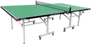 What Is The Size Of A Ping Pong Table by Butterfly Easifold Outdoor Rollaway Ping Pong Table