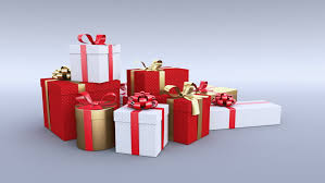 christmas present boxes gift boxes white background 4 in 1 stock footage 5094230