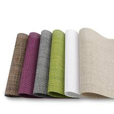 mylifeunit pvc insulation table mat placemat for dinner room set