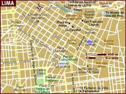 lima map map of lima
