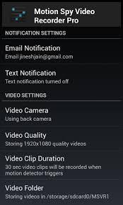 secret recorder pro apk motion recorder pro apk free android app zero