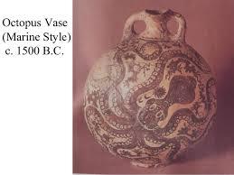 Minoan Octopus Vase Minoan Art