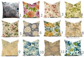 Shabby Chic Pillow Covers by Pillow Pillows Covers Rose Floral Shabby Chic Multiple Colors