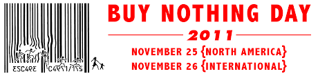 Buy Nothing Day logo from www.adbusters.org