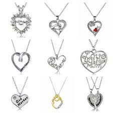 s day jewelry for fashion rhinestones heart s day pendant