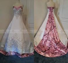 custom made plus size colored pink camo wedding dresses 2015