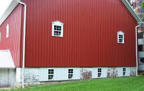 Metal Siding For Barns Siding Hartville Barn Boys