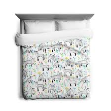 floral foxes duvet cover u2013 sharp shirter