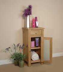 Floor Standing Bathroom Cabinets by Mobel Oak Glazed Floor Standing Bathroom Cabinet Small Bathroom