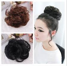 hair puff online shop best selling women free style hair curler wig puff bud