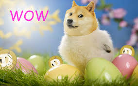 easter stuff wow doge easter day stuff dogecoin