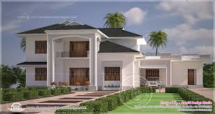 nice and clean villa elevation exterior kerala home single house