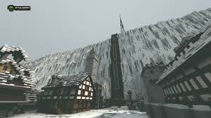 New York City Minecraft Map by Game Of Thrones U0027 Castle Black And The Wall Look Awesome In