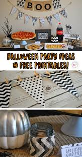 halloween party ideas and free printables