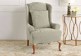 Wing Chair Slipcovers Sure Fit Category