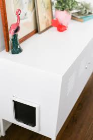 ikea kitchen cabinet hacks kitty litter box cabinet hack salty canary