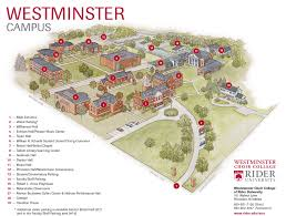 Usa Campus Map by Princeton Campus Map Rider University