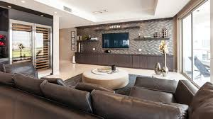 High End Leather Sectional Sofa Ikea Tv Wall Mount Living Room Contemporary With Brown Leather