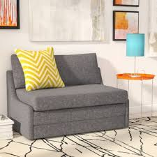 self assembly sofas for small spaces small loveseat sleeper wayfair
