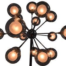 52 off possini possini euro chrome and glass floor lamp decor