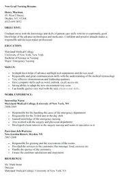 new nurse resume cover letter examples nursing pinterest rn