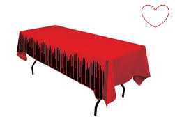 halloween tablecloth bloody fake blood drips halloween party decoration table cloth