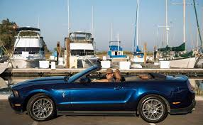 blue mustang at sight with kona blue mustang sfgate