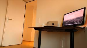 Sit Stand Desk Ikea by Ikea Electric Sitting Standing Desk Bekant Youtube