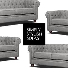 grey chesterfield sofa sussex grey fabric chesterfield sofa 3 2 seater armchair 1