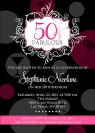 birthday invites how to make 50th birthday invitation free