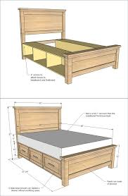 Diy Bed Frame With Storage 25 Creative Diy Bed Projects With Free Plans I Creative Ideas