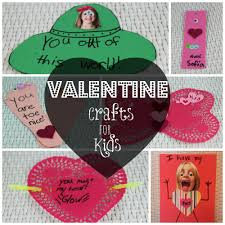 easy and inexpensive valentine crafts for kids bargainbriana