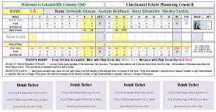 Golf Tournament Sign Up Sheet Template Features And Screenshots Tournament Expert