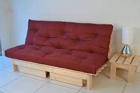 Futon Sofa Bed Mattress by Beautiful Wooden Frame Futon Sofa Bed Traditional Living Room With